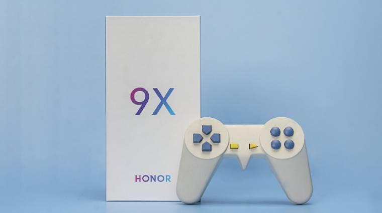 Jóféle funkciókról árulkodnak a Honor 9X előzetesei kép