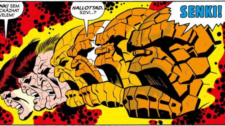 Amikor a két behemót összecsapott - Fantasztikus Négyes: Hulk a Lény ellen kép