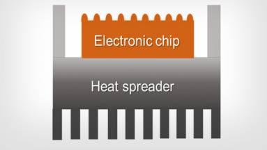 Egy újszerű hőkezelő anyag hűvösen tartja a számítógépeket kép