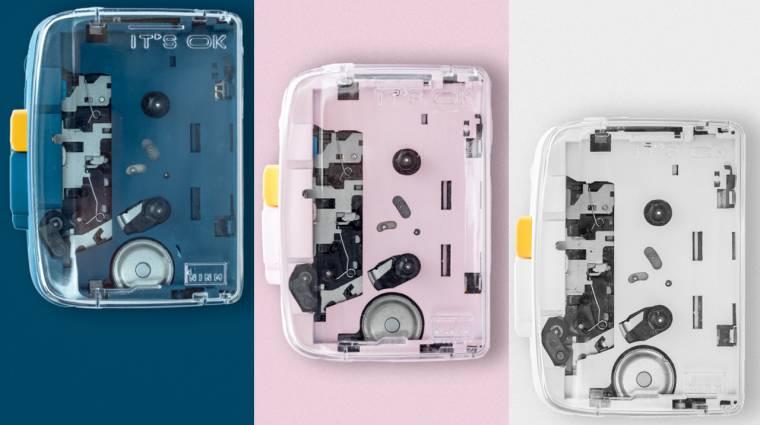 Modern retró a köbön: itt a Bluetooth kazettás walkman kép