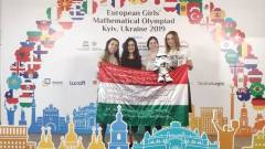 Magyar lányok kiválóan szerepeltek a Matematikai Diákolimpián kép