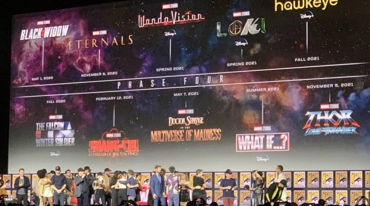 Leleplezték a Marvel Filmes Univerzum negyedik fázisát bevezetőkép