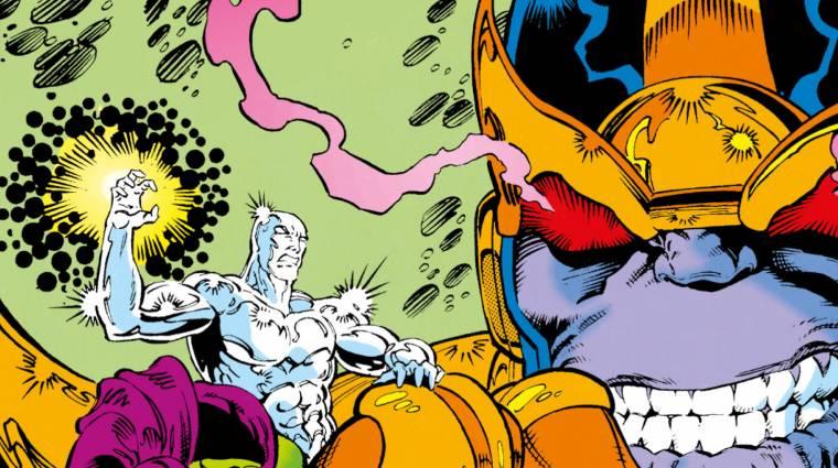 Az őrült titán világuralomra tör - Mega Marvel: Thanos kép