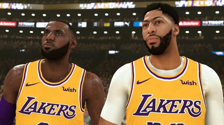 Gamescom 2019 - valódi sztárparádé az NBA 2K20 karrier módjának új trailere bevezetőkép