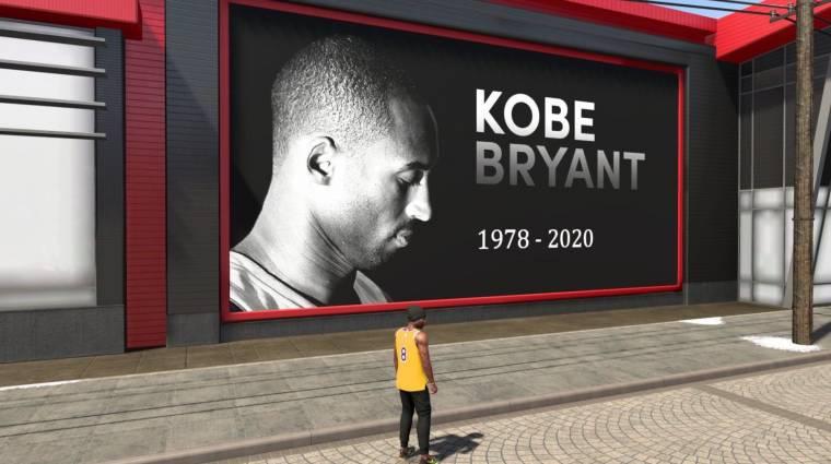 Így tisztelegnek az NBA 2K játékosai Kobe Bryant előtt bevezetőkép
