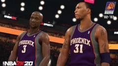 Az egyik amerikai kosárcsapat az NBA 2K20-ban folytatja meccseit kép