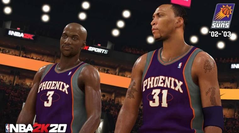 Az egyik amerikai kosárcsapat az NBA 2K20-ban folytatja meccseit bevezetőkép
