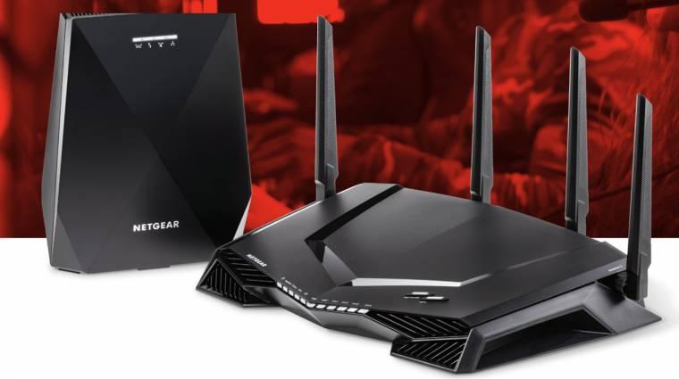 Játékos Wi-Fi és mesh egyben: újít a Netgear kép