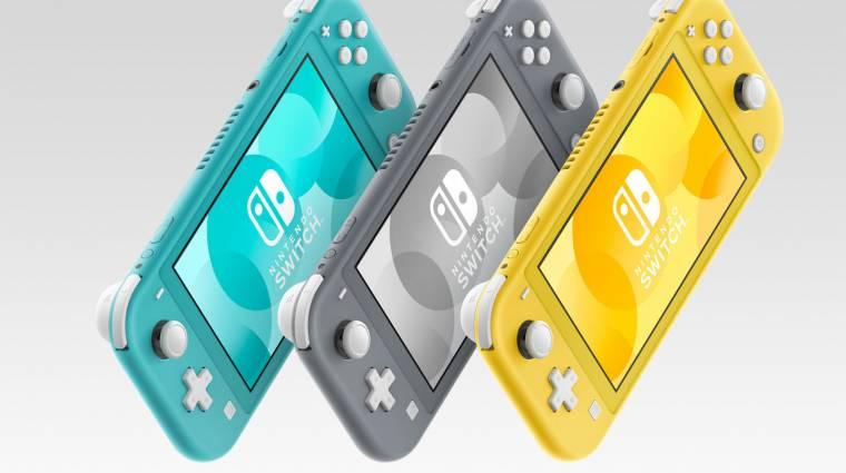 Nintendo Switch Lite - ezt tudja majd az olcsóbb Switch bevezetőkép