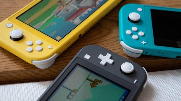 Nintendo Switch Lite - ezt a gépet tényleg senki nem köti tévére bevezetőkép