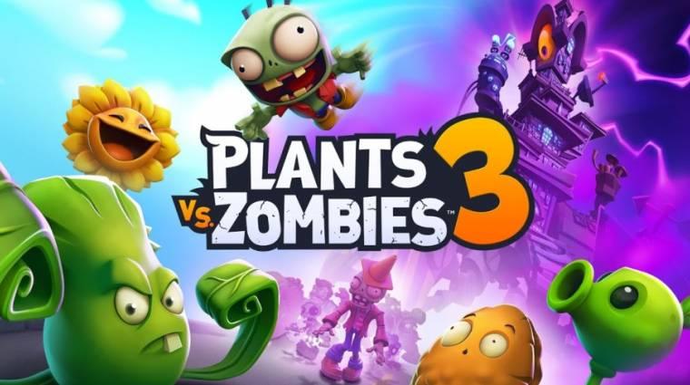 Újabb országokban tesztelhetik a Plants vs. Zombies 3-at bevezetőkép