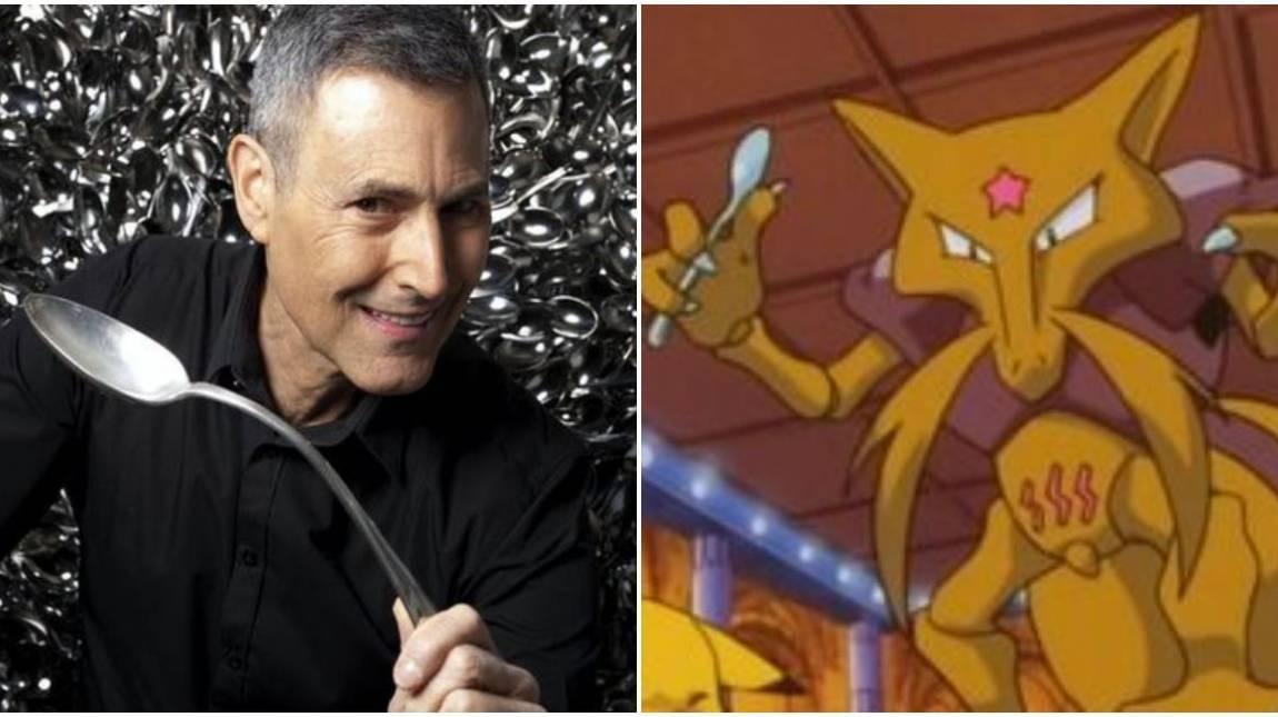 Uri Geller megengedte, hogy újra árusíthassák a szerinte róla mintázott Kadabra Pokémon kártyáit kép