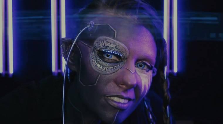 Ilyen egy profi magyar Cyberpunk 2077 smink, ha egy kis World of Warcraft is keveredik bele bevezetőkép