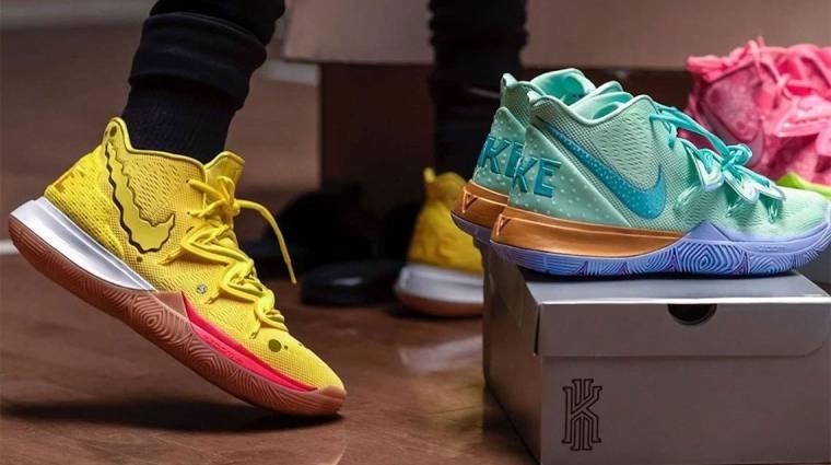 Jönnek a Spongyabob témájú Nike cipők bevezetőkép
