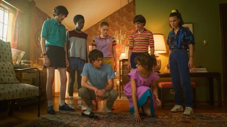 A Stranger Things negyedik évada is csúszik, miután a Netflix leállított minden forgatást kép