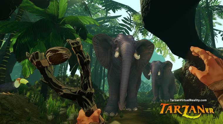 Felfedezhetjük majd a dzsungelt a Tarzan VR-ral bevezetőkép