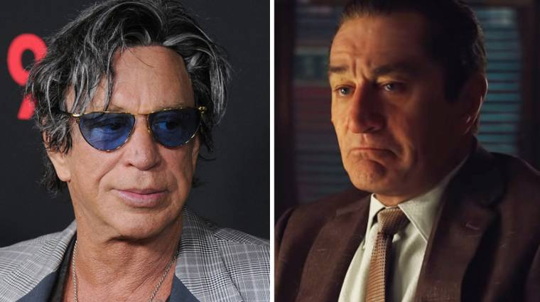 Mickey Rourke szerint Robert De Niro miatt nem került bele a The Irishmanbe kép