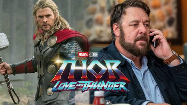 Russell Crowe is feltűnik majd a Thor: Love and Thunderben kép