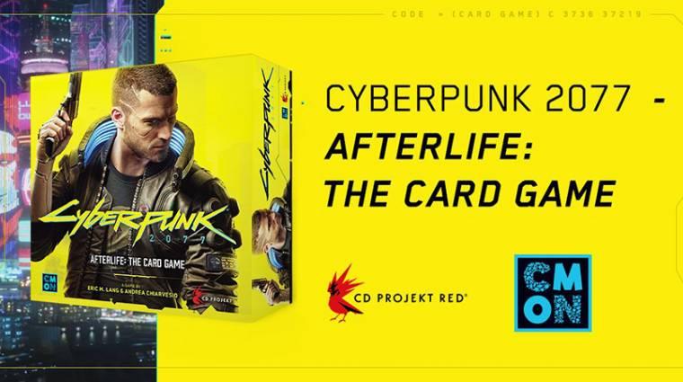 Cyberpunk 2077 - Afterlife - kártyajáték is érkezik jövőre bevezetőkép