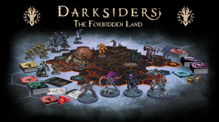 Darksiders - jön a társasjáték, de önállóan nem lehet majd kapni bevezetőkép