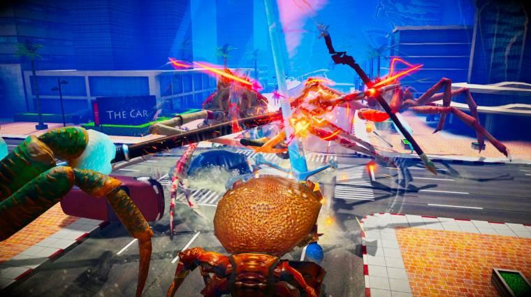 Fight Crab - ebben a játékban rákok ölik egymást láncfűrészekkel bevezetőkép