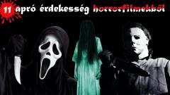 11 apró érdekesség horrorfilmekből kép