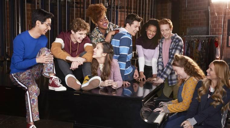Előzetest kapott a High School Musical tévésorozat kép