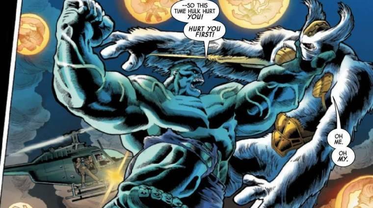 Az eredeti Hulk ismét összecsap a Marvel jól ismert zöld monstrumával bevezetőkép