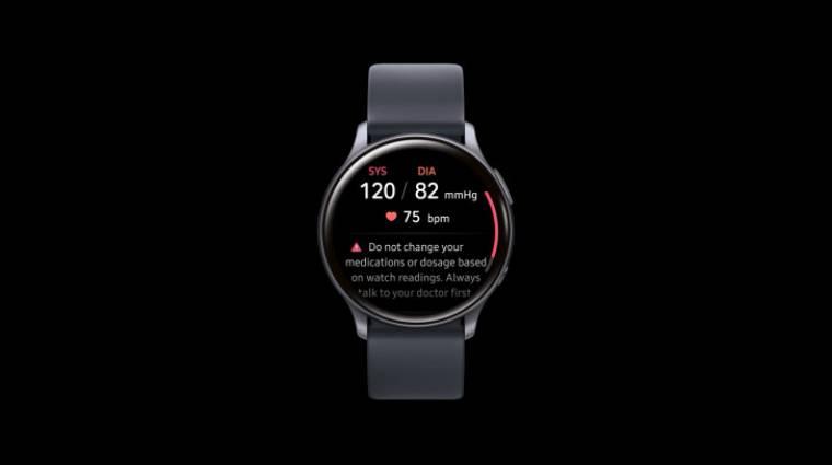 Már vérnyomást is mérnek a Samsung okosórák kép