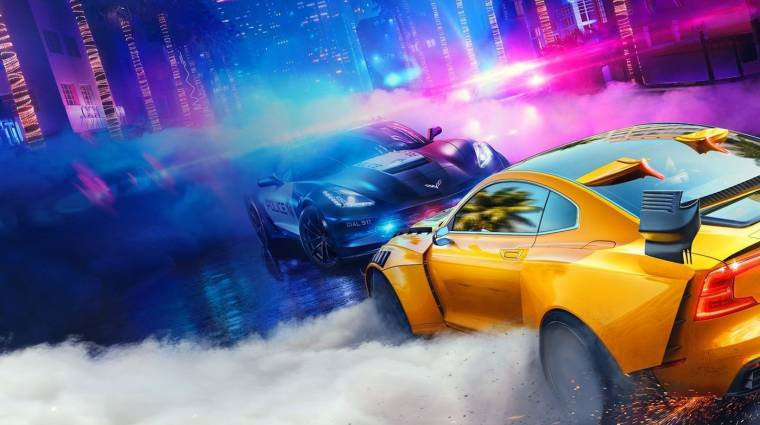 Gamescom 2019 - gameplay videón a Need for Speed Heat bevezetőkép