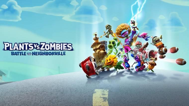 Plants vs. Zombies: Battle for Neighborville - már akár ma harcba szállhatunk bevezetőkép