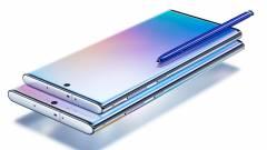 Bemutatkoztak a Samsung új mobil erőművei, itt a Note 10 páros kép