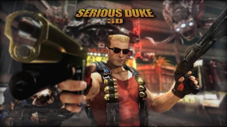 A Serious Sam 3 motorjával alkotta újra a Duke Nukem 3D-t egy modderpáros bevezetőkép