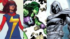 A sorozatok után a filmekben is feltűnnek a Marvel új karakterei kép