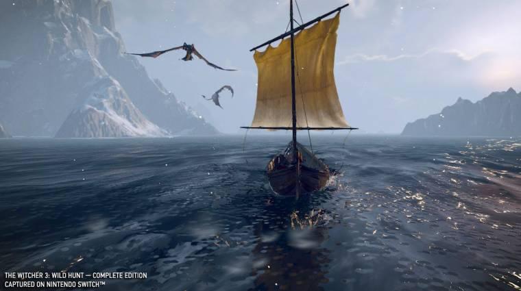 Már Switchen is folytathatjuk PC-s kalandunkat a The Witcher III: Wild Huntban bevezetőkép