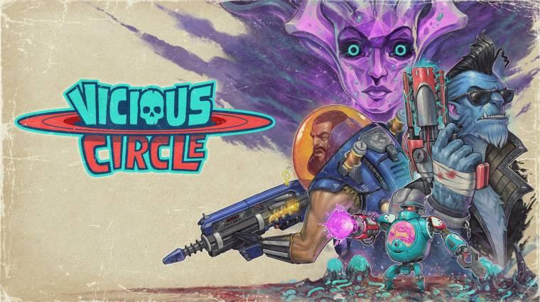 Vicious Circle - megjelent a Rooster Teeth Games őrült lövöldéje bevezetőkép