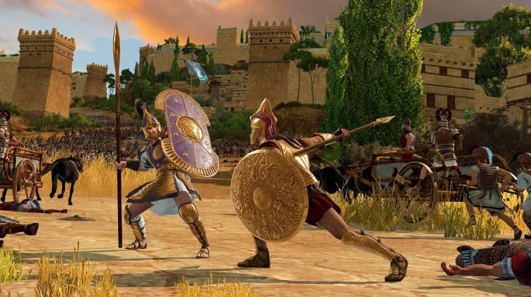 Ha ennél gyengébb géped van, nem fog menni az A Total War Saga: Troy bevezetőkép