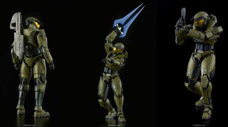 Gyönyörű Master Chief gyűjtői figurát készített egy japán játékgyártó cég bevezetőkép