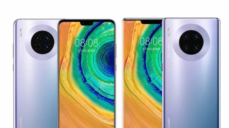 Lecsupaszítva mutatkozott be a Huawei Mate 30 Pro kép