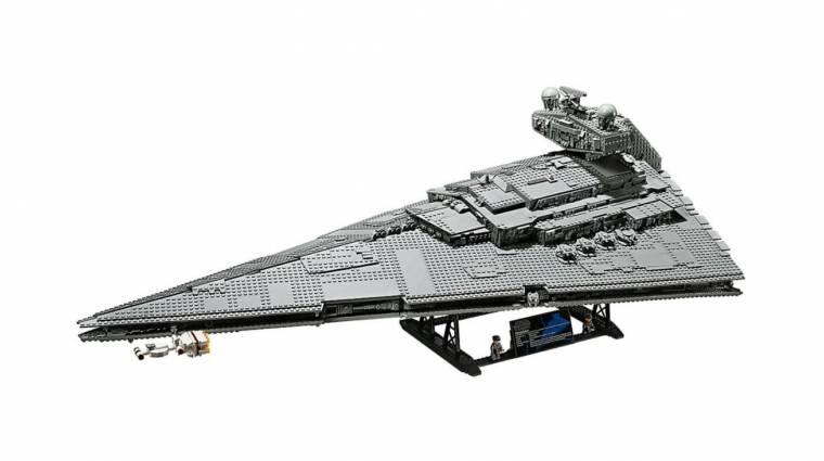 Az új LEGO birodalmi csillagromboló majdnem 5000 darabból áll bevezetőkép