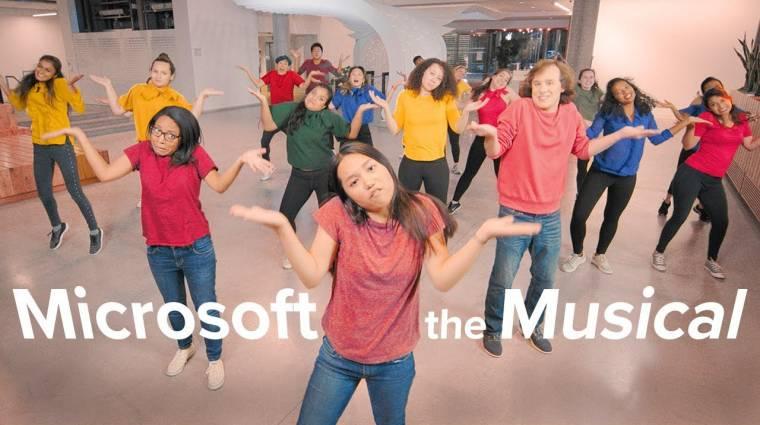 Napi büntetés: itt a Microsoftról szóló musical bevezetőkép