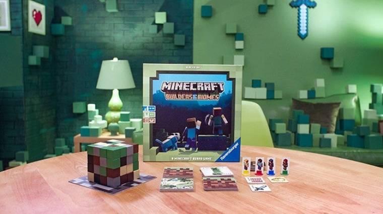 Érkezik a hivatalos Minecraft társasjáték bevezetőkép