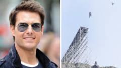Egy kaszkadőr nem ugrat annyit életében mint Tom Cruise a Mission: Impossible 7-re gyakorolva kép