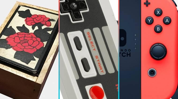 Játtékkártyától a Switchig - a 130 éves Nintendo hardveres története bevezetőkép