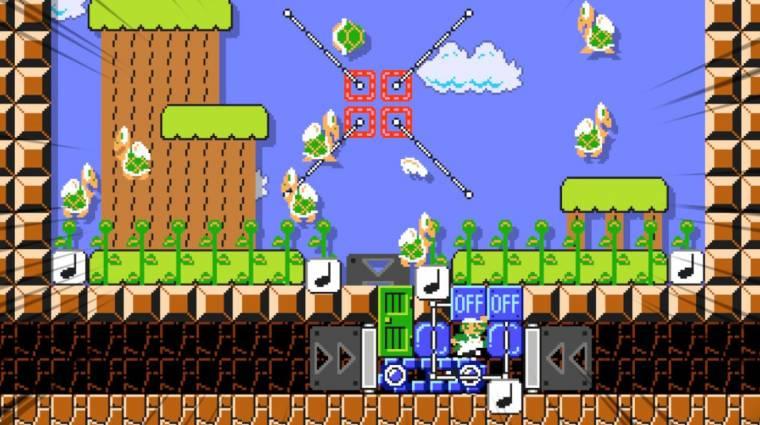 Super Mario Maker 2 - valaki leklónozta benne a Duck Huntot bevezetőkép