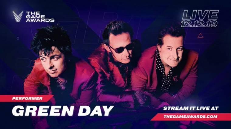 A Green Day is ott lesz a The Game Awardson bevezetőkép