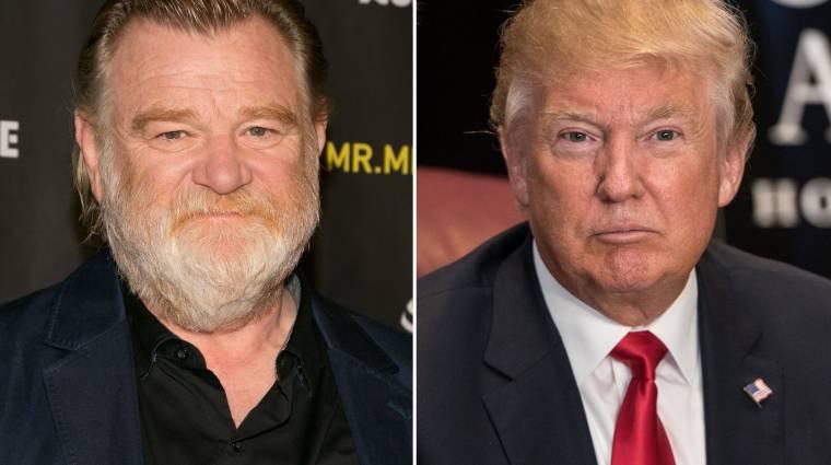 Brendan Gleeson lesz Donald Trump egy új minisorozatban kép