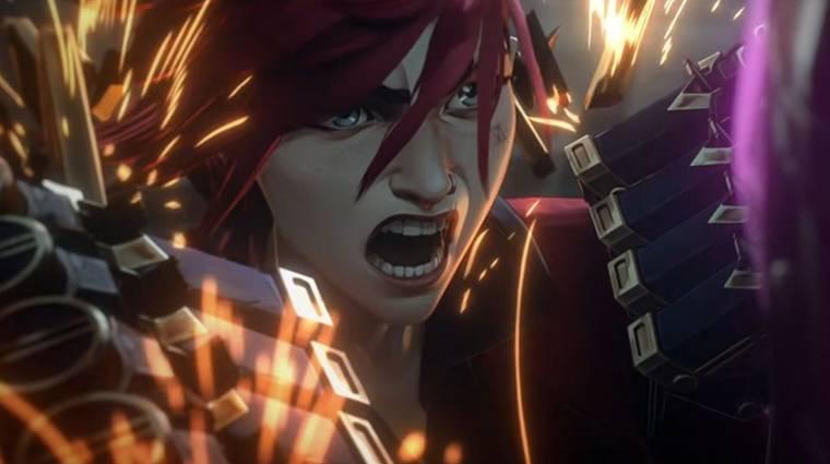 Új előzetest villantott a League of Legends animációs sorozat, az Arcane bevezetőkép