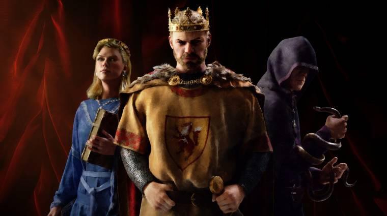 Konzolokra is megjelenik a Crusader Kings III bevezetőkép