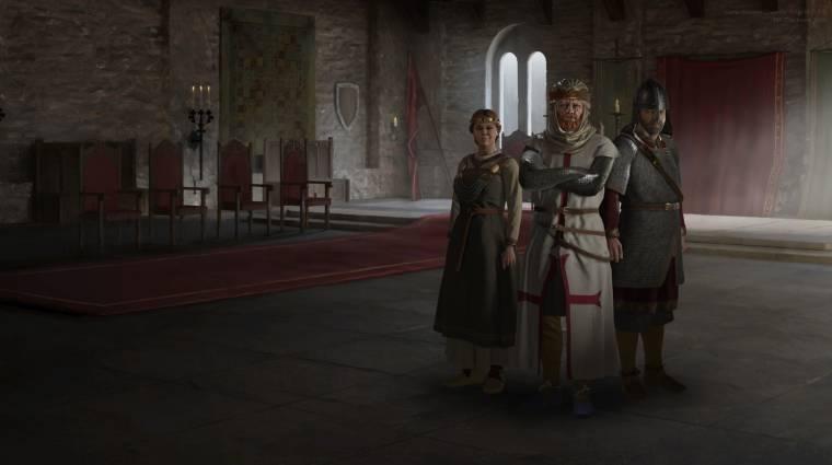 Nagyon jól fogy a Crusader Kings 3, fontos mérföldkőnél az eladások bevezetőkép